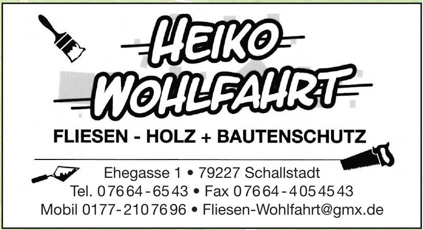 Heiko Wohlfahrt