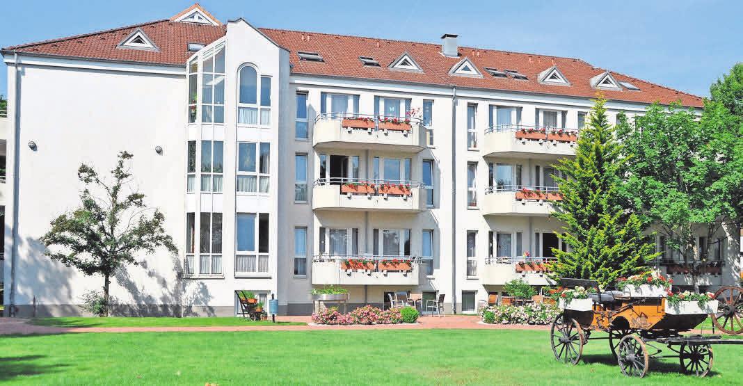 In dem Gebäude in Gehrden werden die geltenden Hygiene- und Sicherheitsmaßnahmen strikt eingehalten. Foto: Archiv