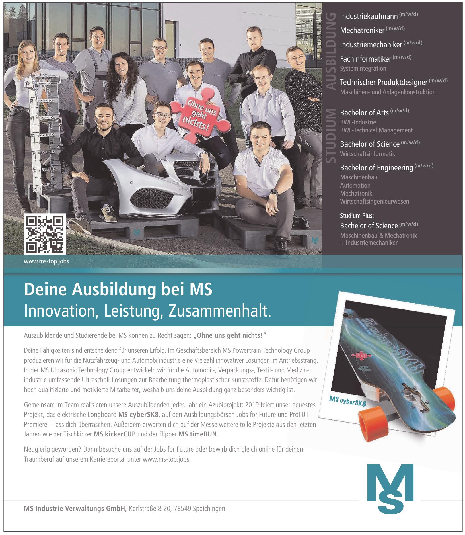 MS Industrie Verwaltungs GmbH