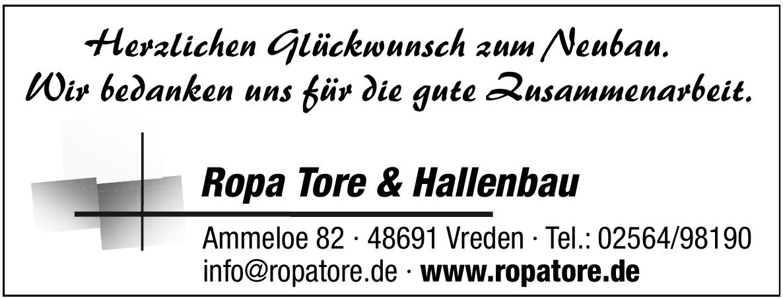 Ropa Tore & Hallenbau