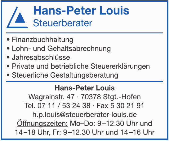 Hans-Peter Louis Steuerberater