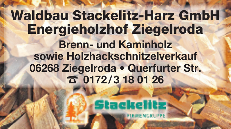 Waldbau Stackelitz-Harz GmbH