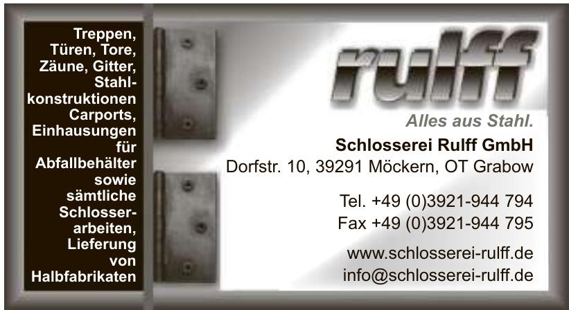 Schlosserei Rulff GmbH