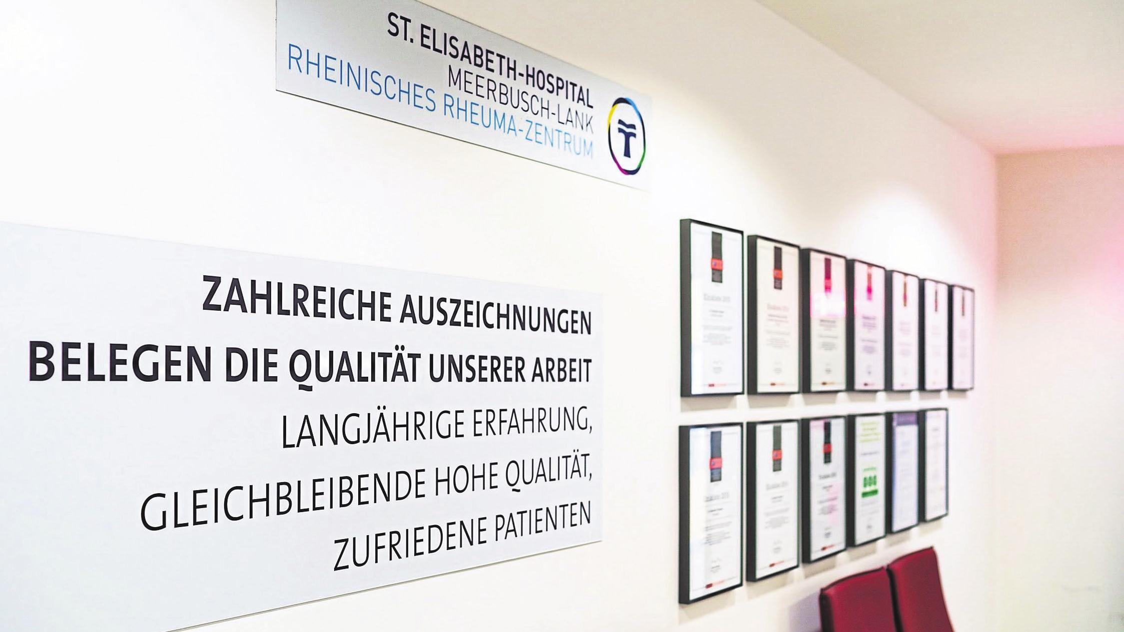Foto:TV Wartezimmerfür St. Elisabeth-Hospital
