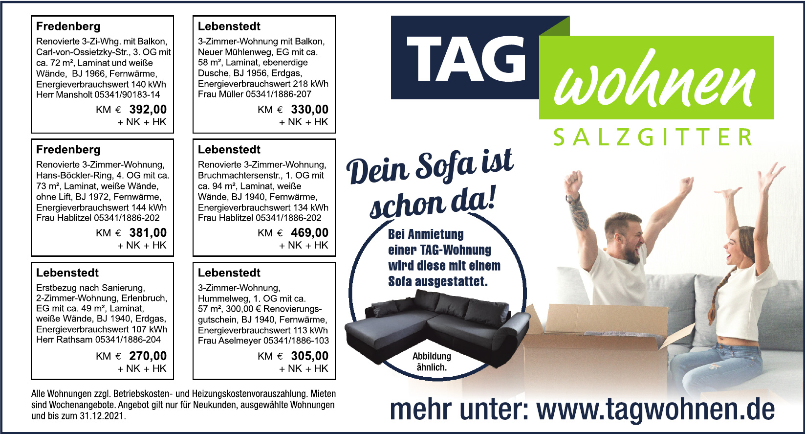 TAG Wohnen Salzgitter
