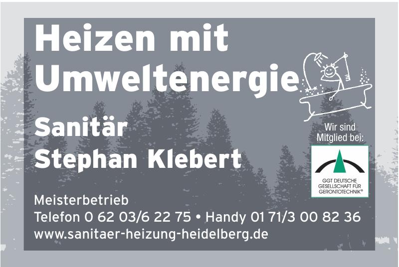 Sanitär Stephan Klebert