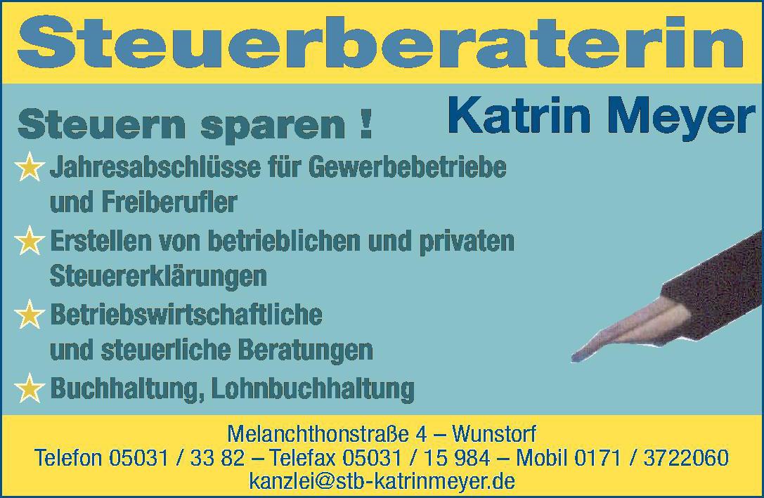 Steuerberaterin Katrin Meyer