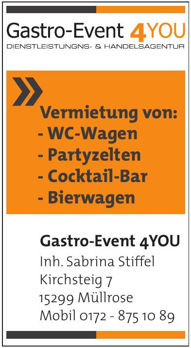 Gastro-Event 4YOU