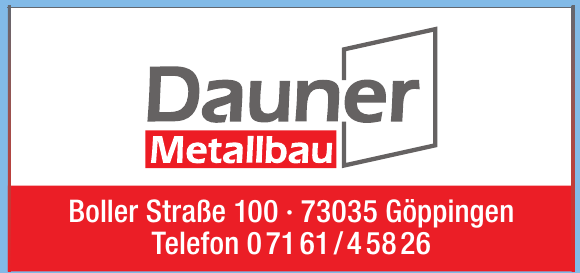 Metallbau Dauner