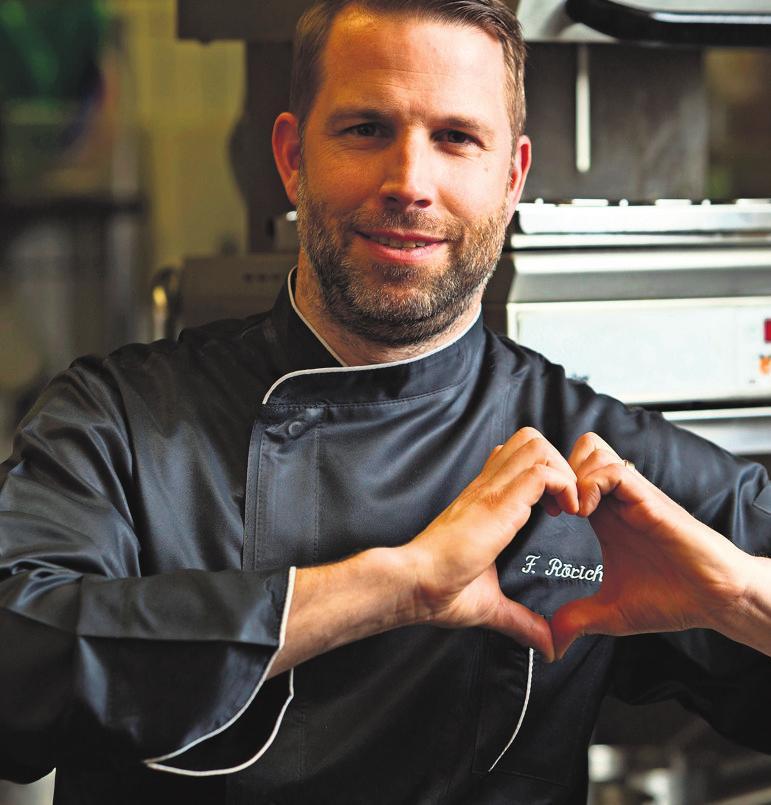 Küchenmeister Frank Rörich.