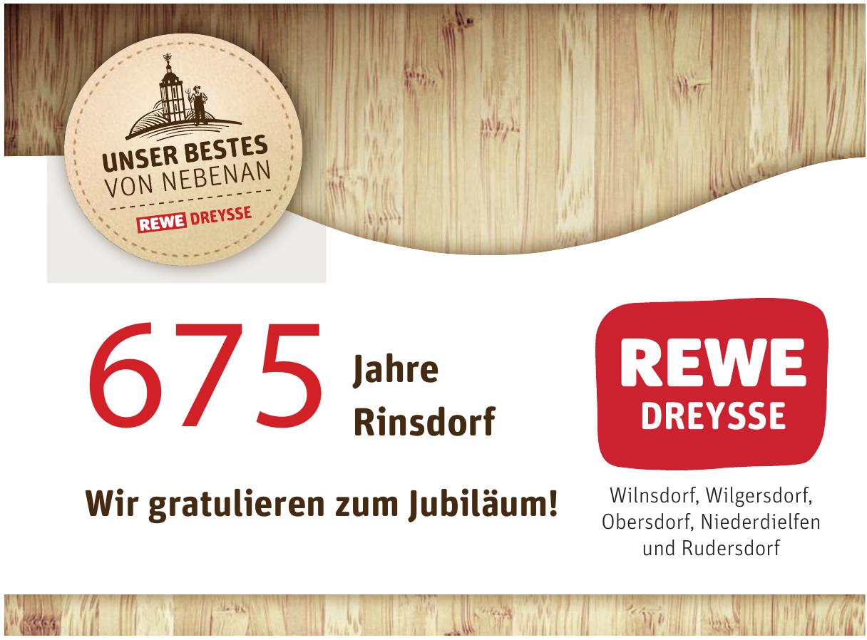 675 Jahre Rinsdorf