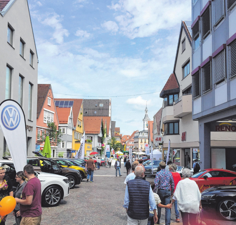 Am 23. Juni von 12 bis 17 Uhr präsentieren sich zwölf Autohäuser und eine Versicherung in der Aalener Innenstadt.Fotos: ACA