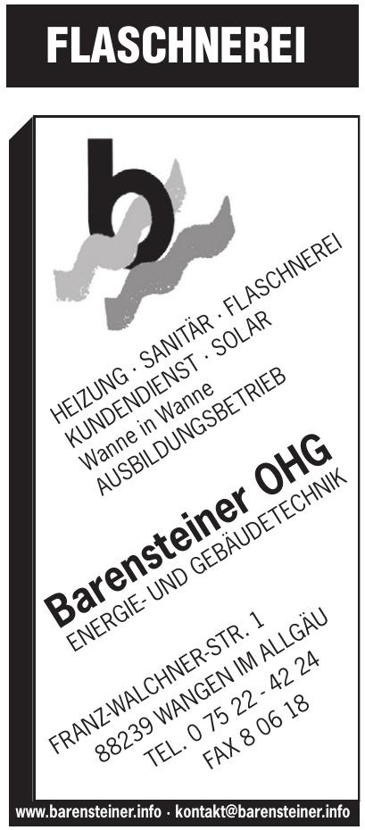 Barensteiner Energie- und Gebäudetechnik