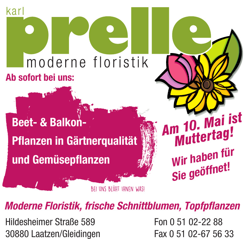 Karl Prelle Moderne Floristik
