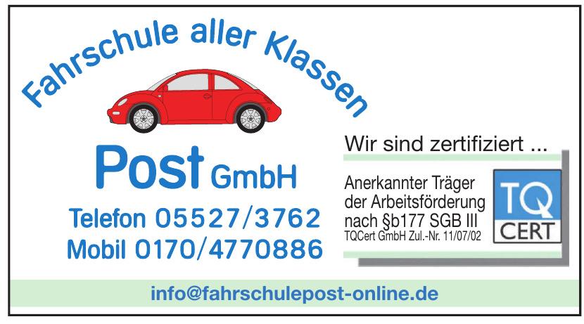 Fahrschule aller Klassen Post GmbH