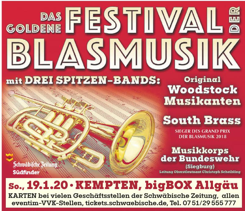 Das goldene Festival der Blasmusik
