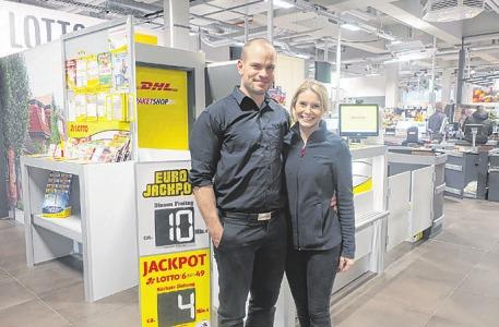 Thieß und Sina Passon bieten ihren Kunden ein tolles Angebot Foto: Frauke Pöhlsen