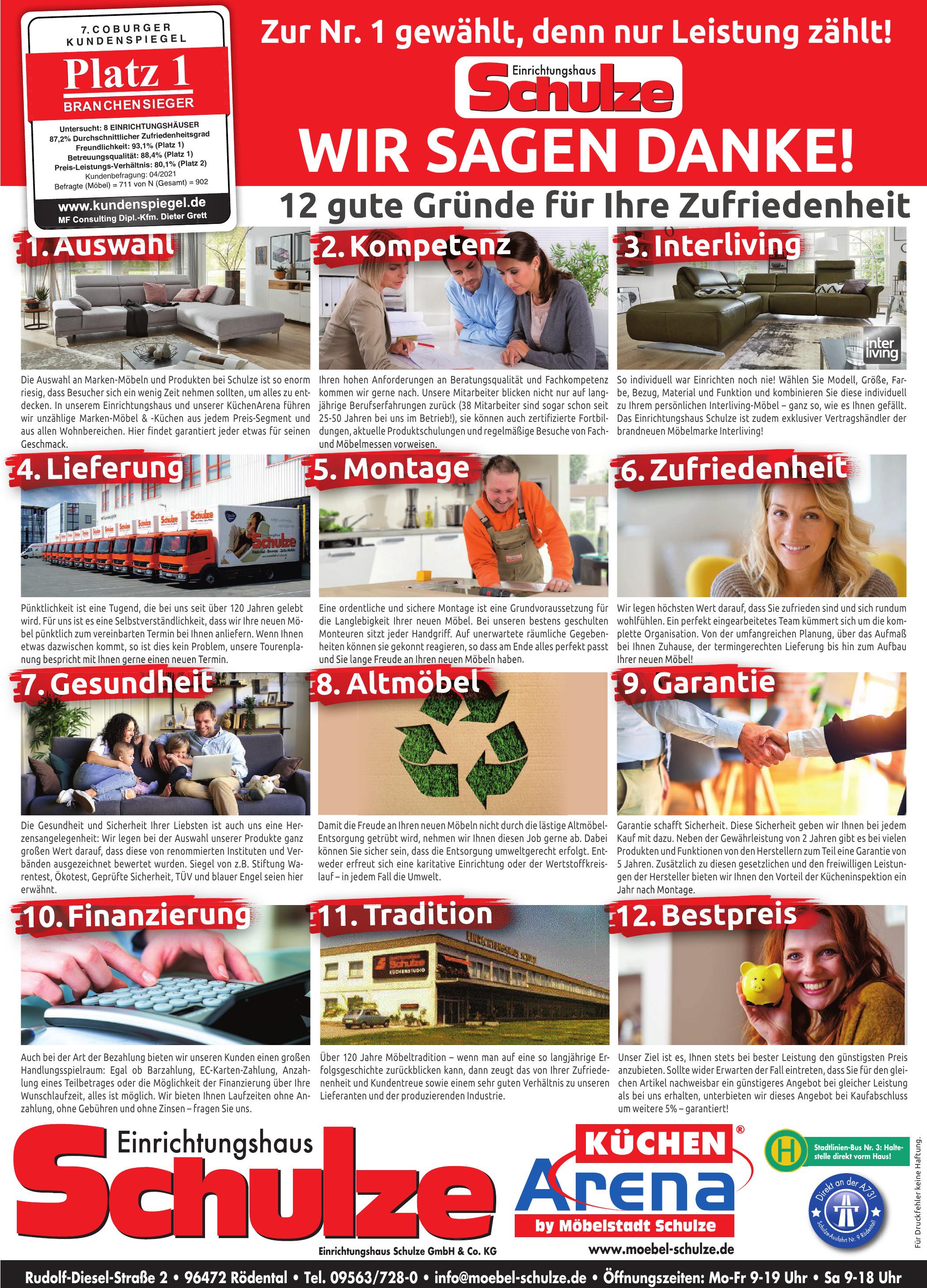 Schulze Einrichtungshaus Schulze GmbH & Co. KG