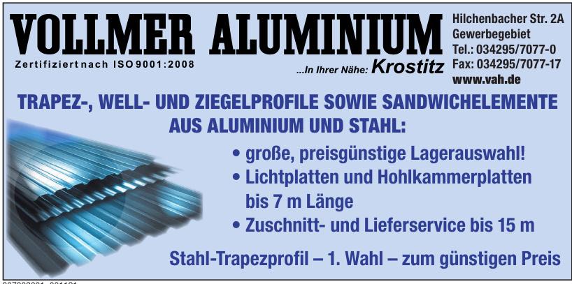 Vollmer Aluminium