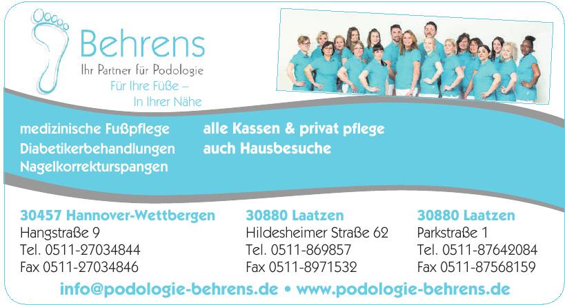 Podologie Zentrum Behrens