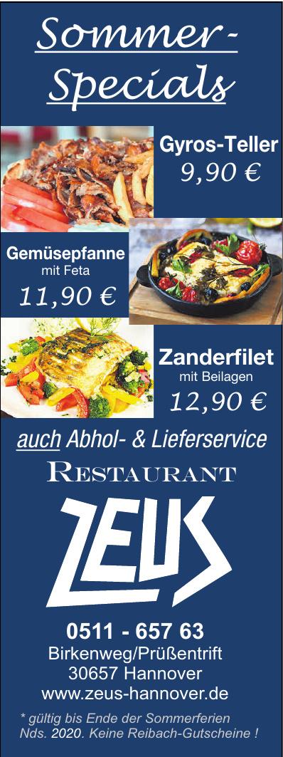 Restaurant  Zeus