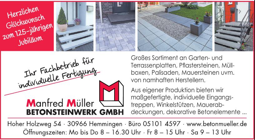 Manfred Müller Betonsteinwerk GmbH