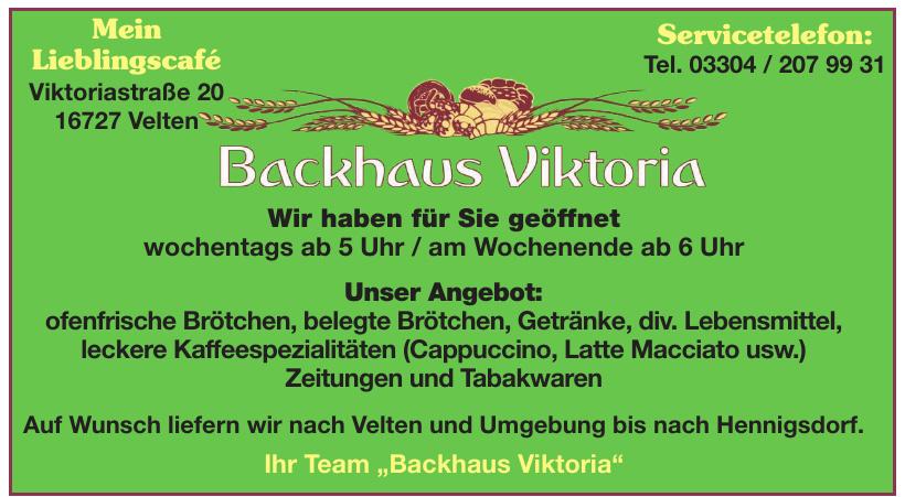 Backhaus Viktoria