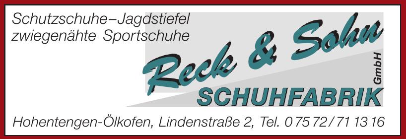 Reck & Sohn Schuhtechnik GmbH