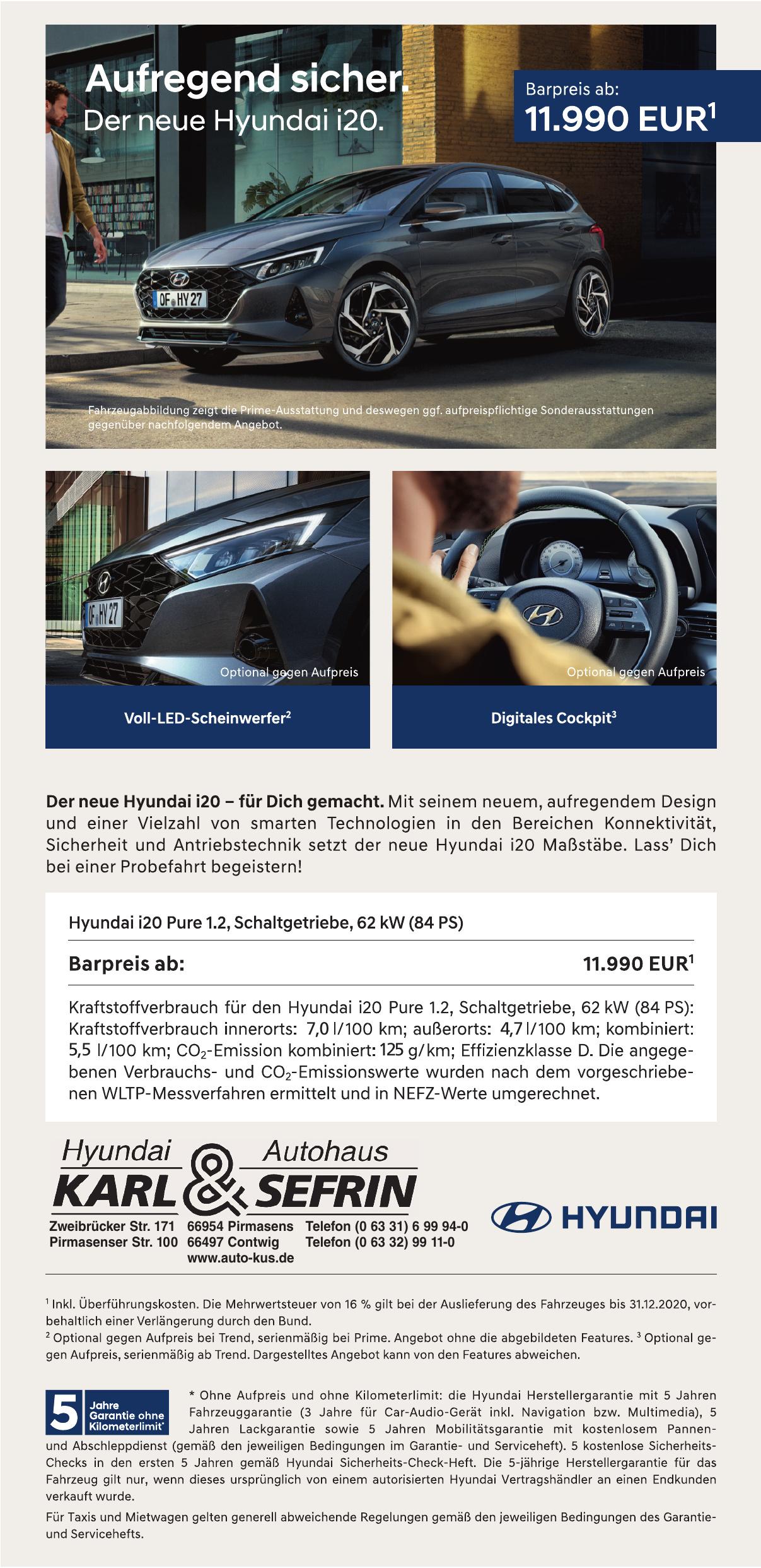Hyundai Autohaus Karl & Sefrin