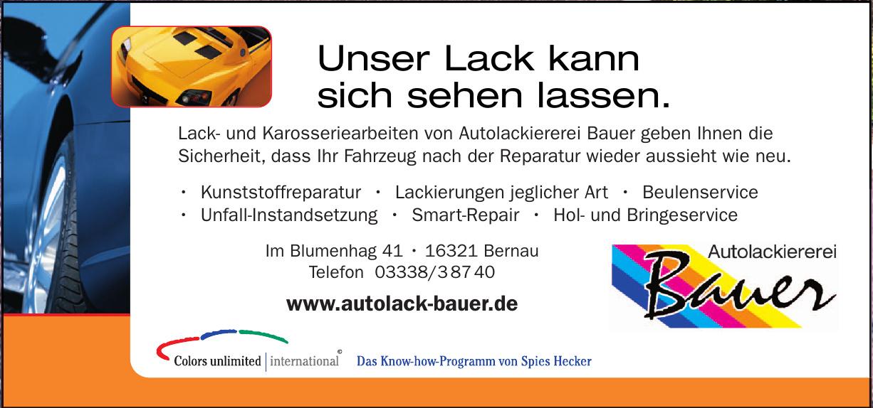 Bauer-Autolackiererei GmbH