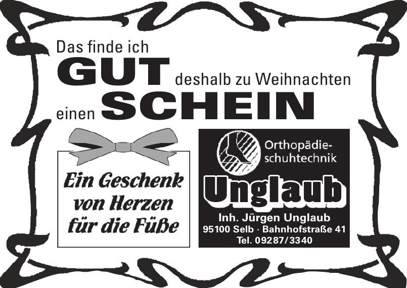 Jürgen Unglaub Orthopädie