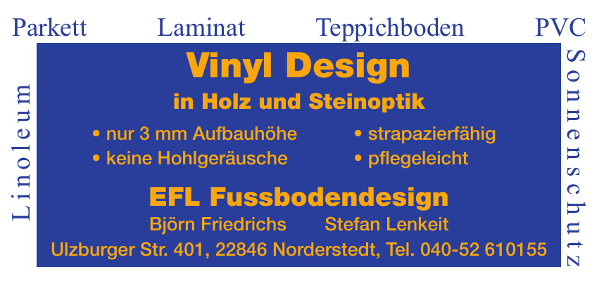 EFL Fussbodendesign
