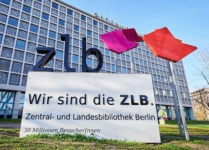 Die Amerika-Gedenkbibliothek ist Berlins Zentral- und Landesbibliothek, kurz zlb. FOTO: ANNETTE RIEDL/DPA