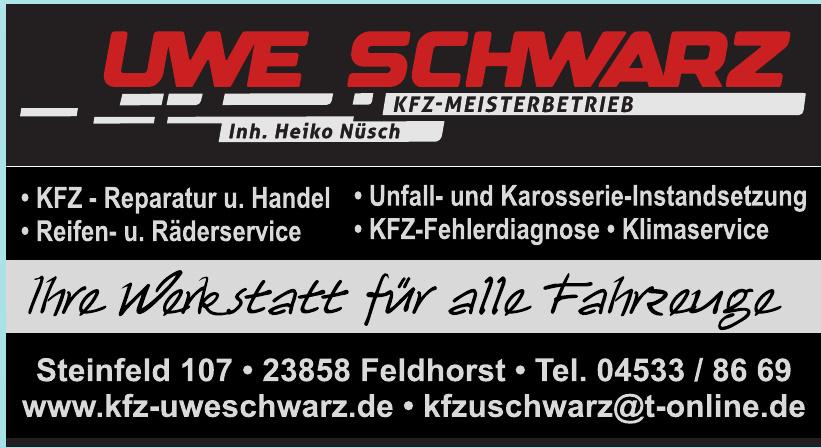 Uwe Schwarz KFZ-Meisterbetrieb