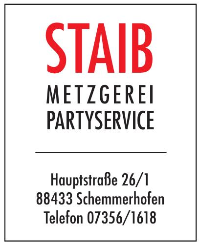 Staib Metzgerei Partyservice