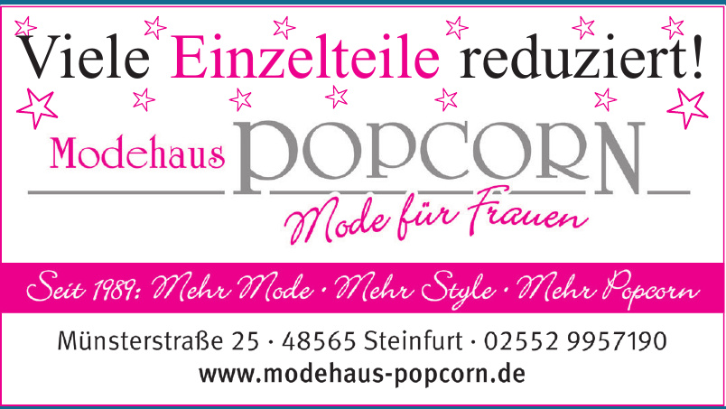 Modehaus  Popcorn