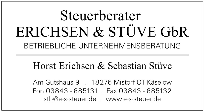 Horst Erichsen & Sebastian Stüve