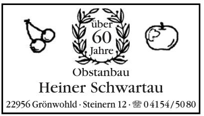 Obstanbau Heiner Schwartau
