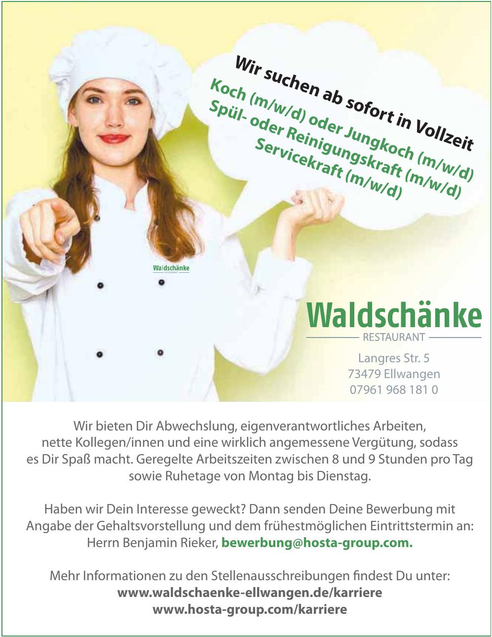 Waldschänke Restaurant