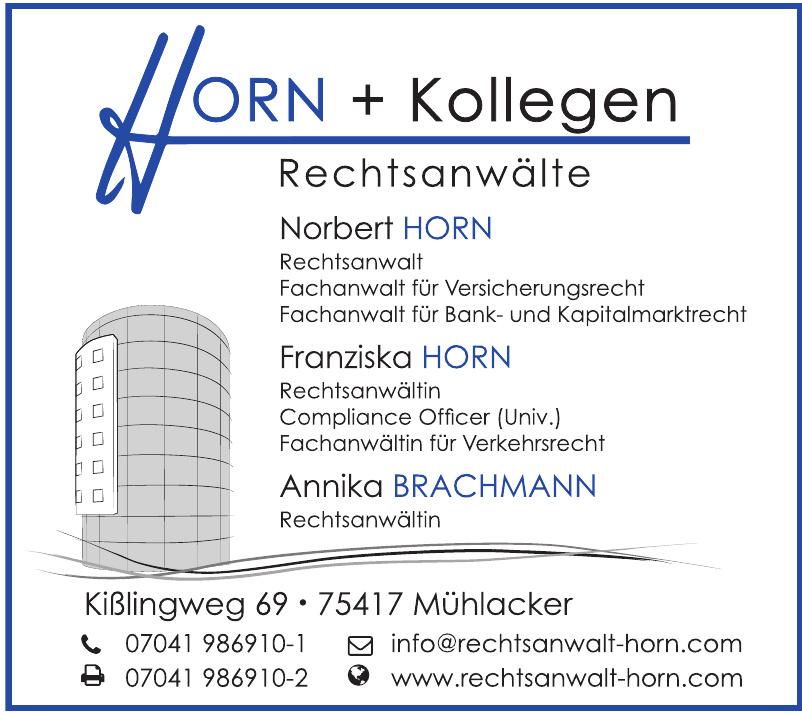 HORN + Kollegen Rechtsanwälte