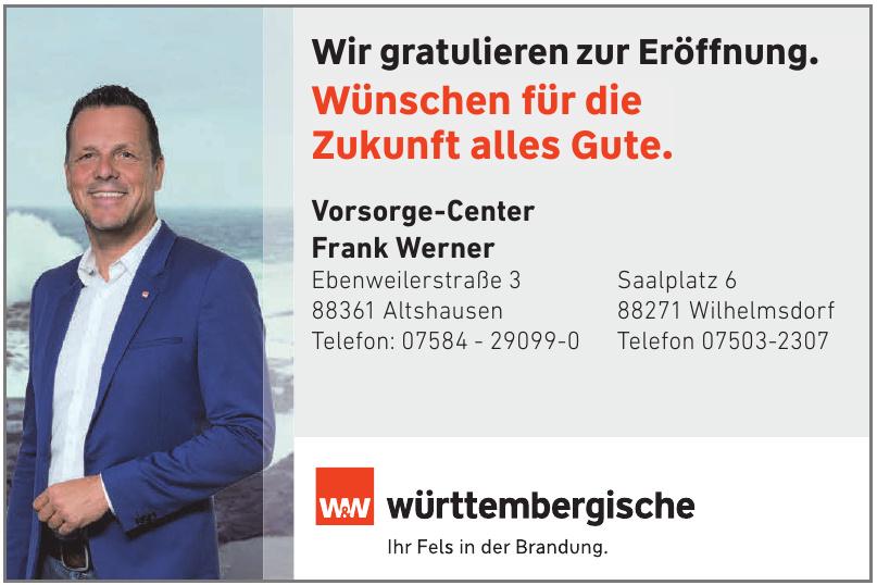 württembergische - Vorsorge-Center Frank Werner