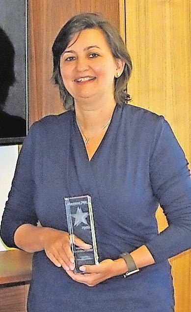 """Wurde im vergangenen Jahr von der Fachzeitschrift Haustex als """"Bettenfachhändler des Jahres"""" gewürdigt: Dijana Gerber-Horsch. ARCHIVFOTO:WIP"""