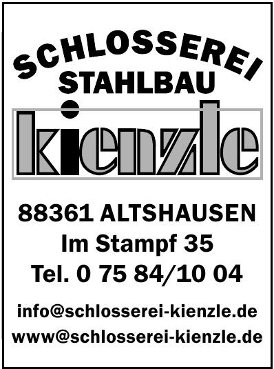 Schlosserei Stahlbau Kienzle