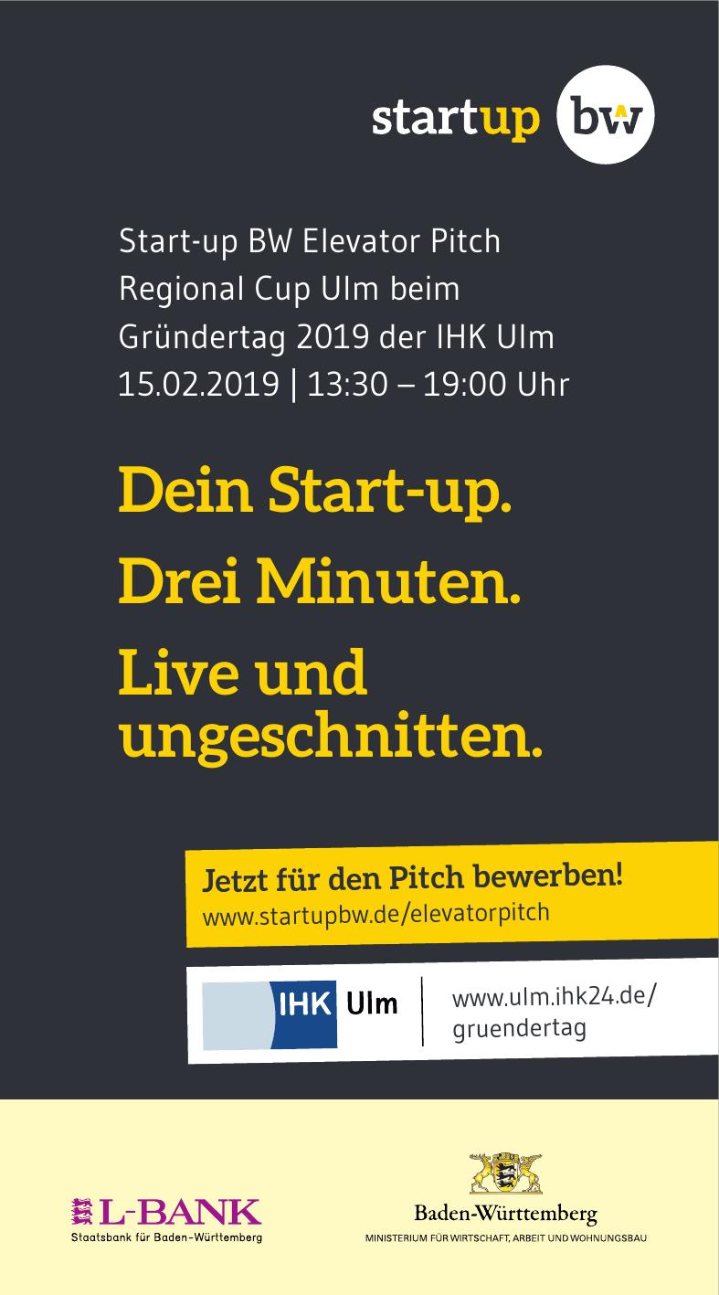 Gründertag 2019 der IHK Ulm