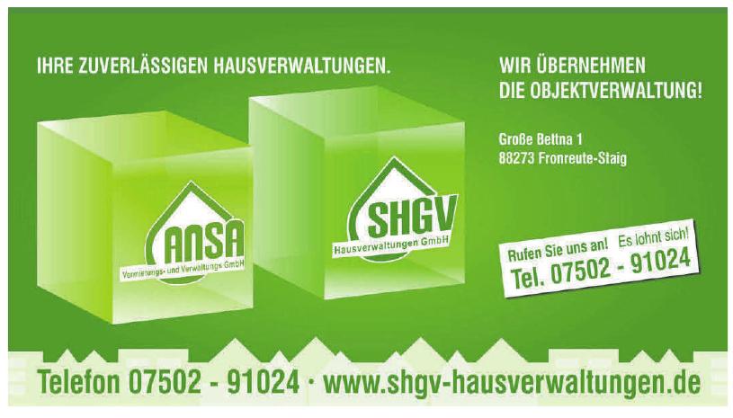 SHGV-Hausverwaltungen GmbH
