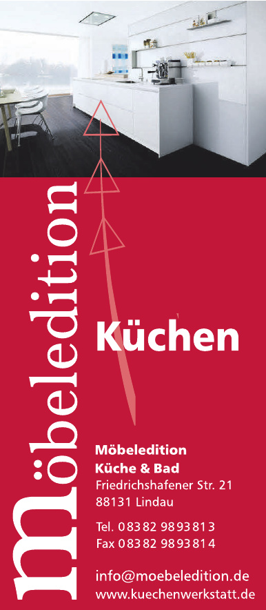 Möbeledition Küche & Bad