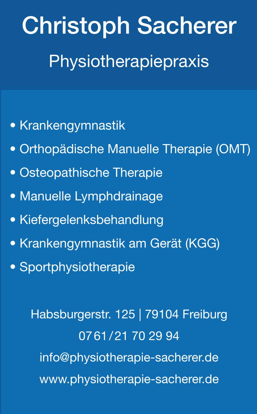 Christoph Sacherer Physiotherapiepraxis