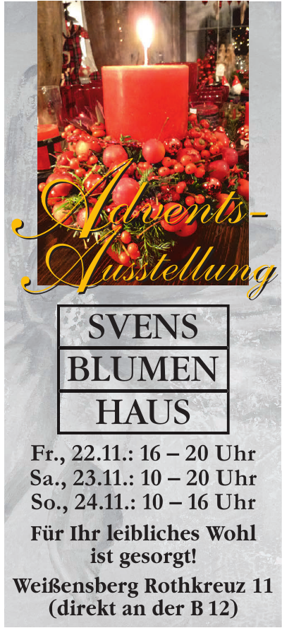 Svens Blumenhaus