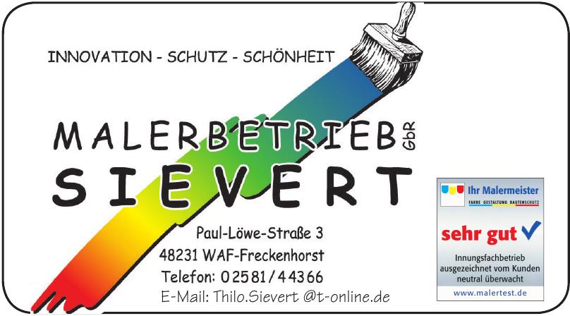 Malerbetrieb Sievert