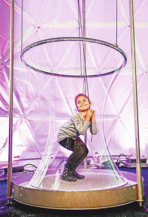 Das Seifenblasenfestival, ein Wunderwerk der Illusionen. Janina Snatzke